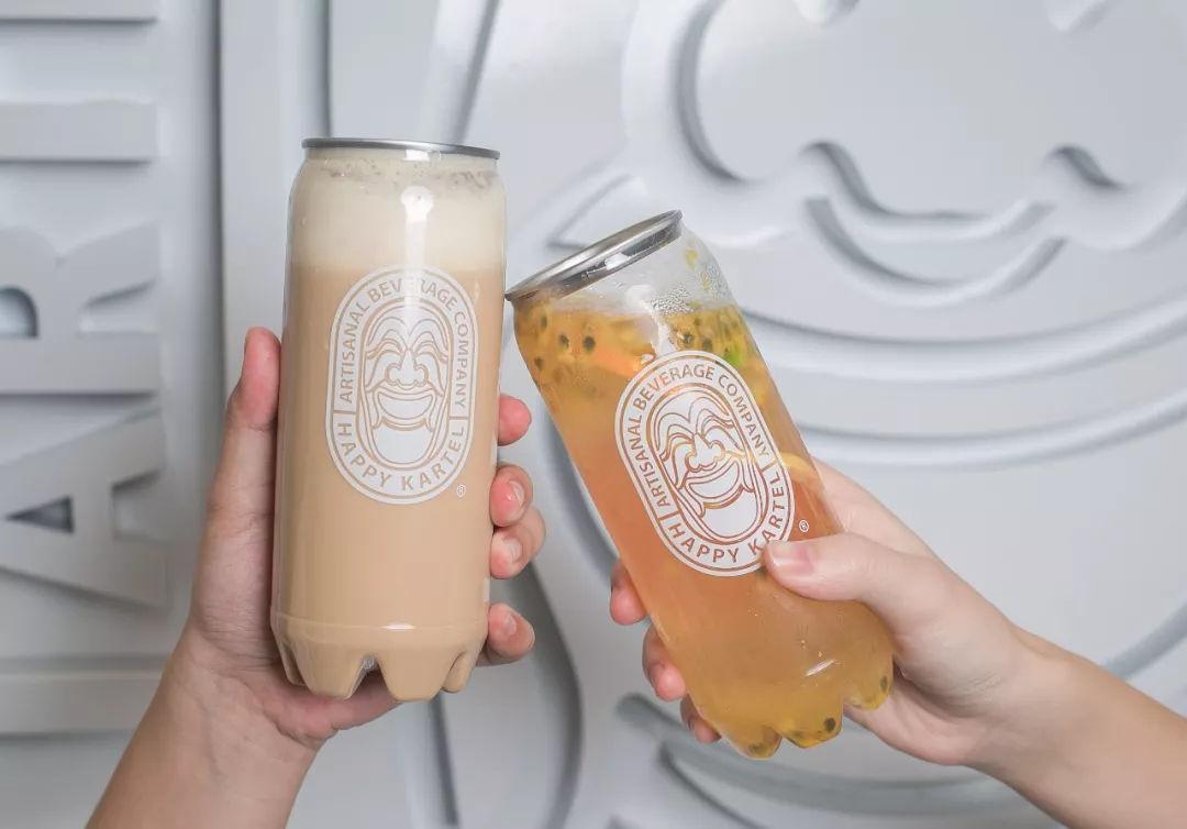 波多野咻狠射_ins小姐姐都爱的易拉罐咖啡, 透明罐子包装超fashion!