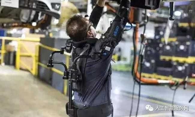 完全自动化 可穿戴外骨骼工业机器人插图1