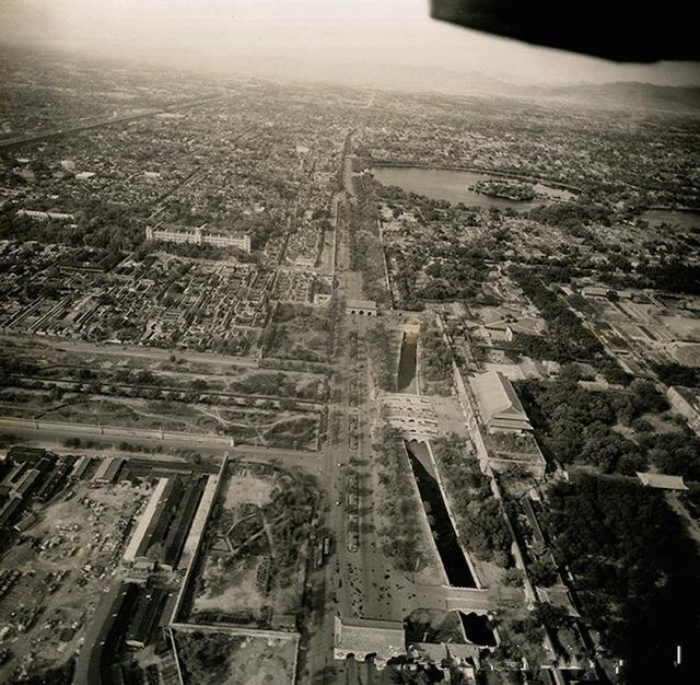 日本投降那年的北京城,十足的老北韵味,这才是北京城当年的模样