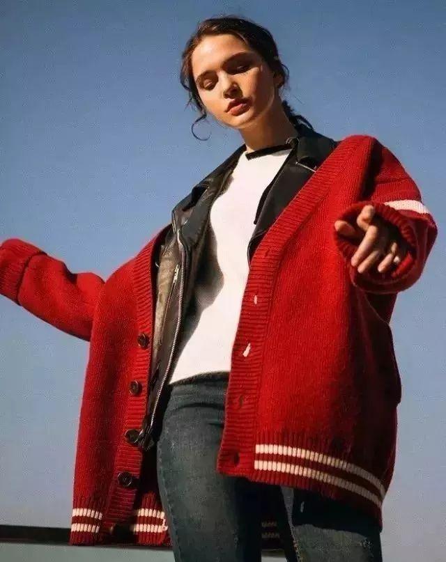 深秋怎么穿?这34套针织开衫温柔搭配,让你从秋天美到冬天!