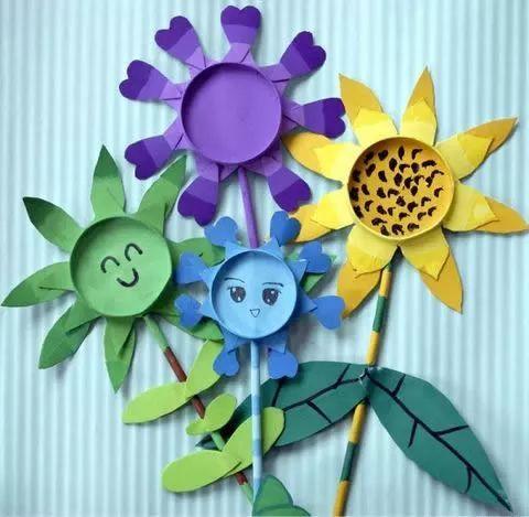 【手工制作】创意纸杯:花儿朵朵开!精选47张