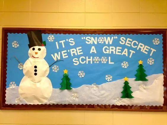 原标题:【冬季环创】冬季最应景,最有创意的冬季主题墙环创,和孩子一起走进冬天吧! 本文导读 冬天来临,老师们都在为孩子们创设富有冬日气息的环境,让幼儿在潜移默化中了解冬天的知识。小莉老师也为大家搜集了关于墙面布置的创意:雪人、雪花、冬季常识、企鹅等各种主题都有哦! 作者 丨小莉老师 本文由《幼儿园手工》编辑,转载须注明来源! 冬季雪人主题墙 冬天,孩子最喜欢的就是可爱的雪人啦!一起来看看国外幼儿园是怎么设计雪人主题墙的吧!