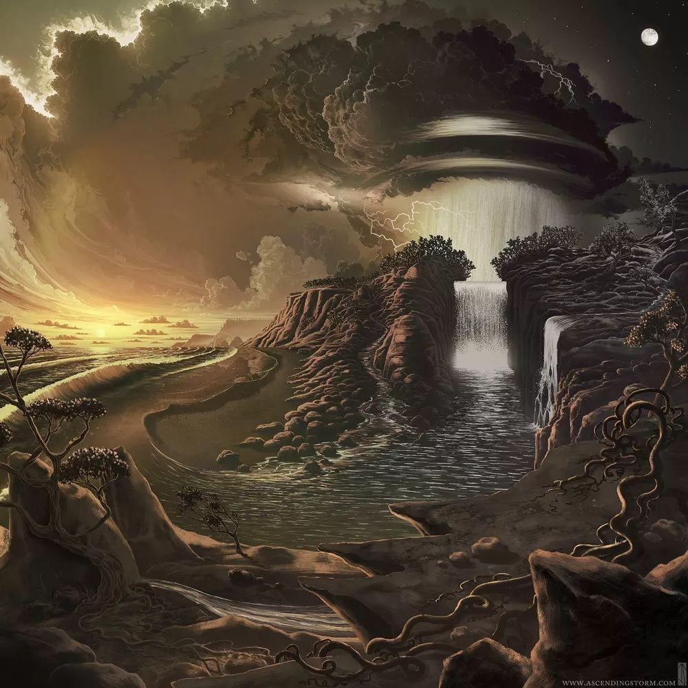 他从地狱画到天堂,幻想世界的背后,是最好的爱情模样