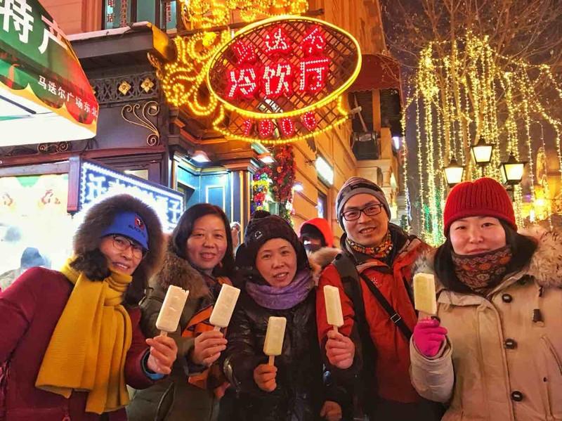 去哈尔滨为什么一定要吃马迭尔冰棍,中央大街每天有1万多人吃它