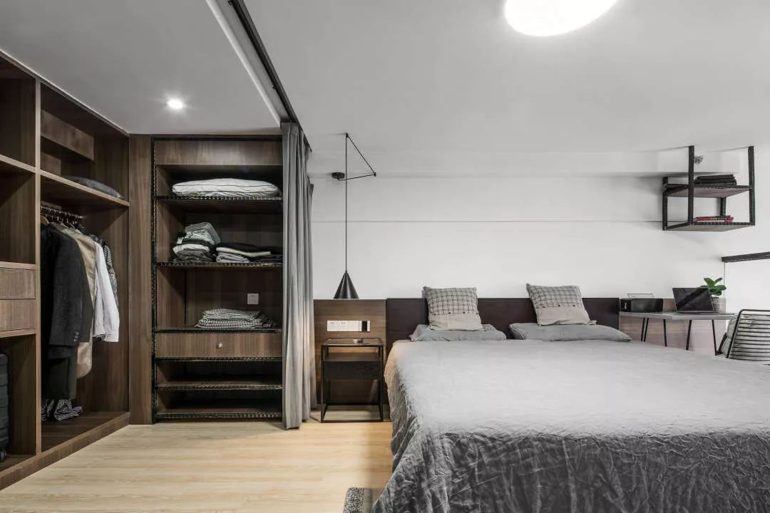 """40平米小复式单身公寓软装改造,""""毛坯房""""也能精致的好图片"""