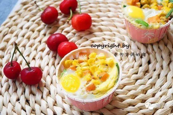 【早餐鸡蛋杯】美味又营养