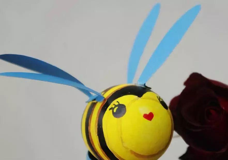 小班蜜蜂手工制作图片