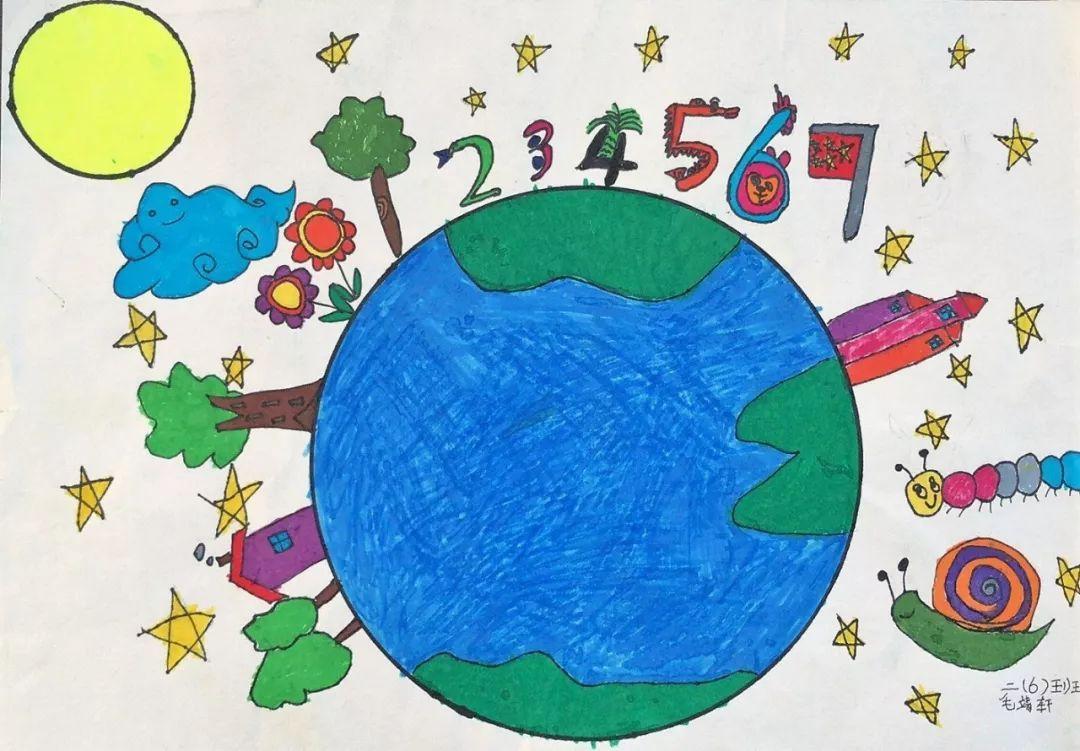 教育 正文  一二年级 数字想象画 因为热爱,所以倍加专注!图片