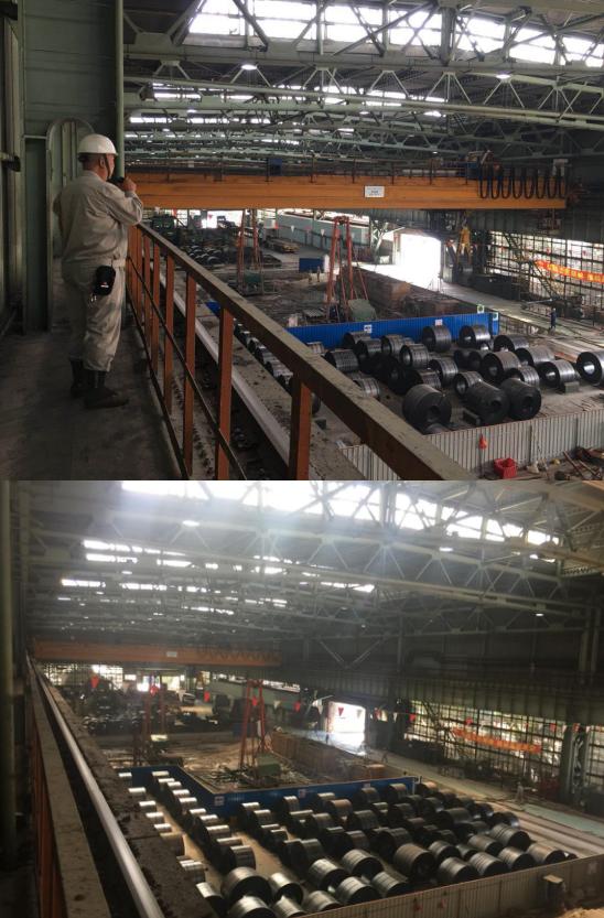 中冶宝钢技术积极配合热轧厂新建机组产线技改