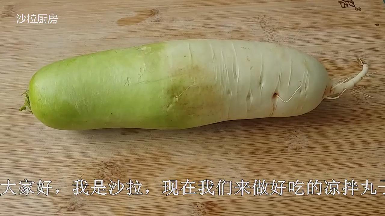 白萝卜这么吃我第一次见,不煮不炖,晶莹剔透,鲜嫩有营养