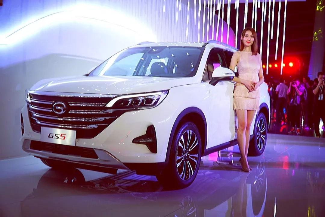 SUV市场又一大家伙现身,全新GS5 10.98万起售