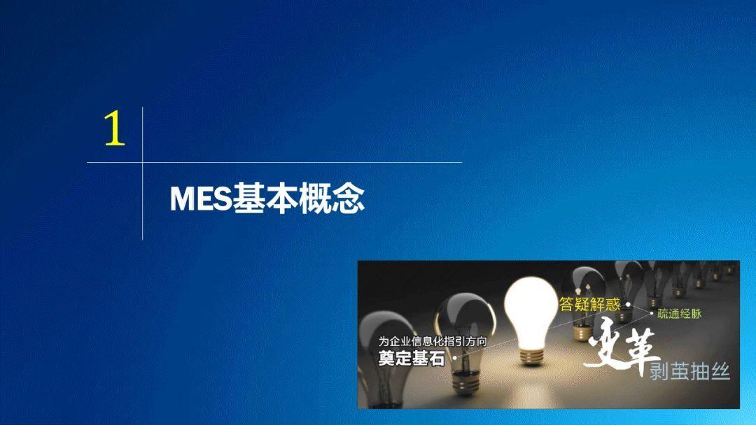 一組超讚MES基礎知識PPT! | 尋夢科技