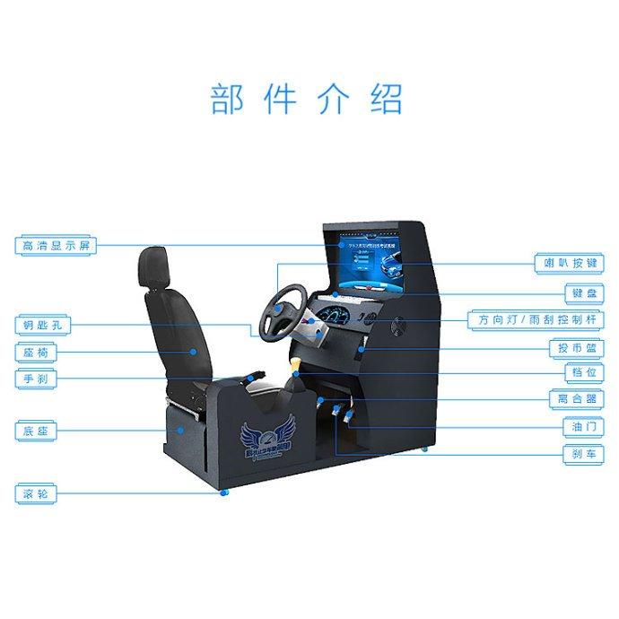 一、汽车驾驶模拟器的基本原理