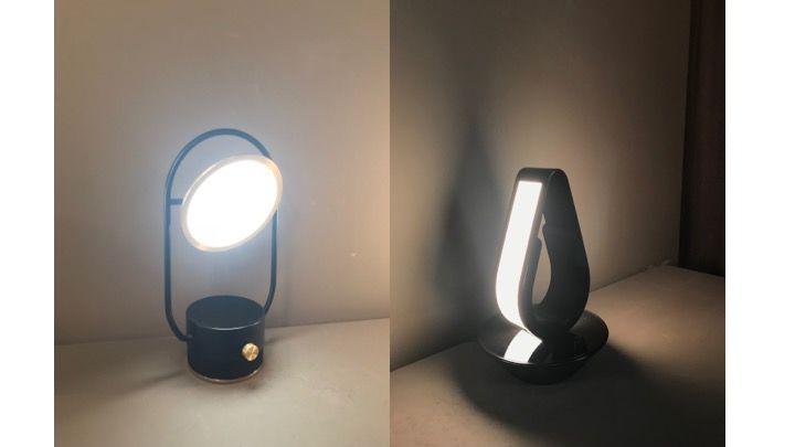 lg也有设计一些其它类型的灯具,例如左图的台灯,运用了古典的元素.图片