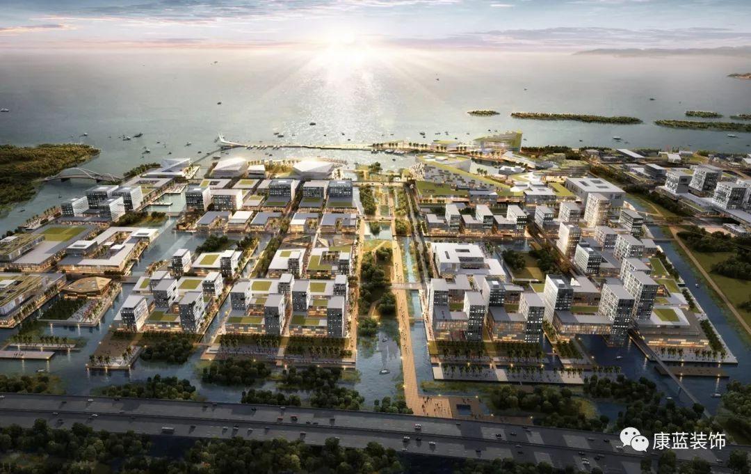 未来城市概念手绘