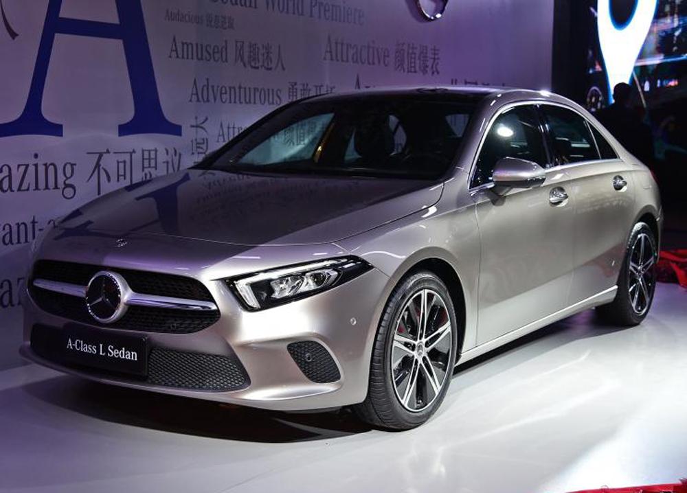 预售21.6-30.8万元 国产奔驰A级将于11月上市