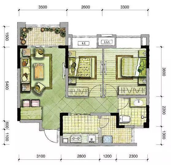 【家居】新房17万装修好通风中,装修太漂亮,进门就有亮点!