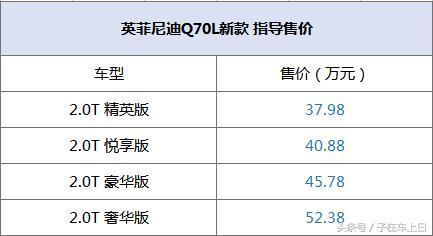 英菲尼迪Q70L新款上市 指导价3798-5238万元_新韩国1.5分彩开奖查