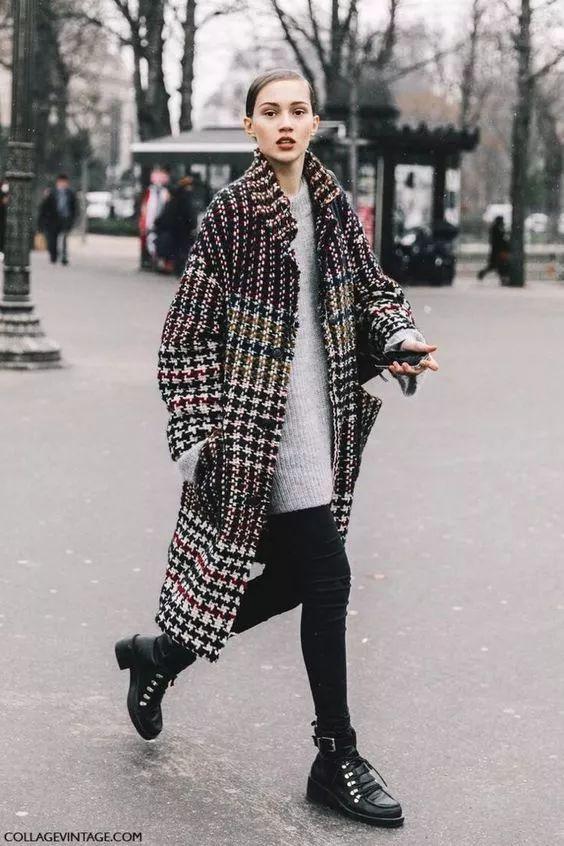 穿搭 今冬长大衣 短靴 时髦炸了