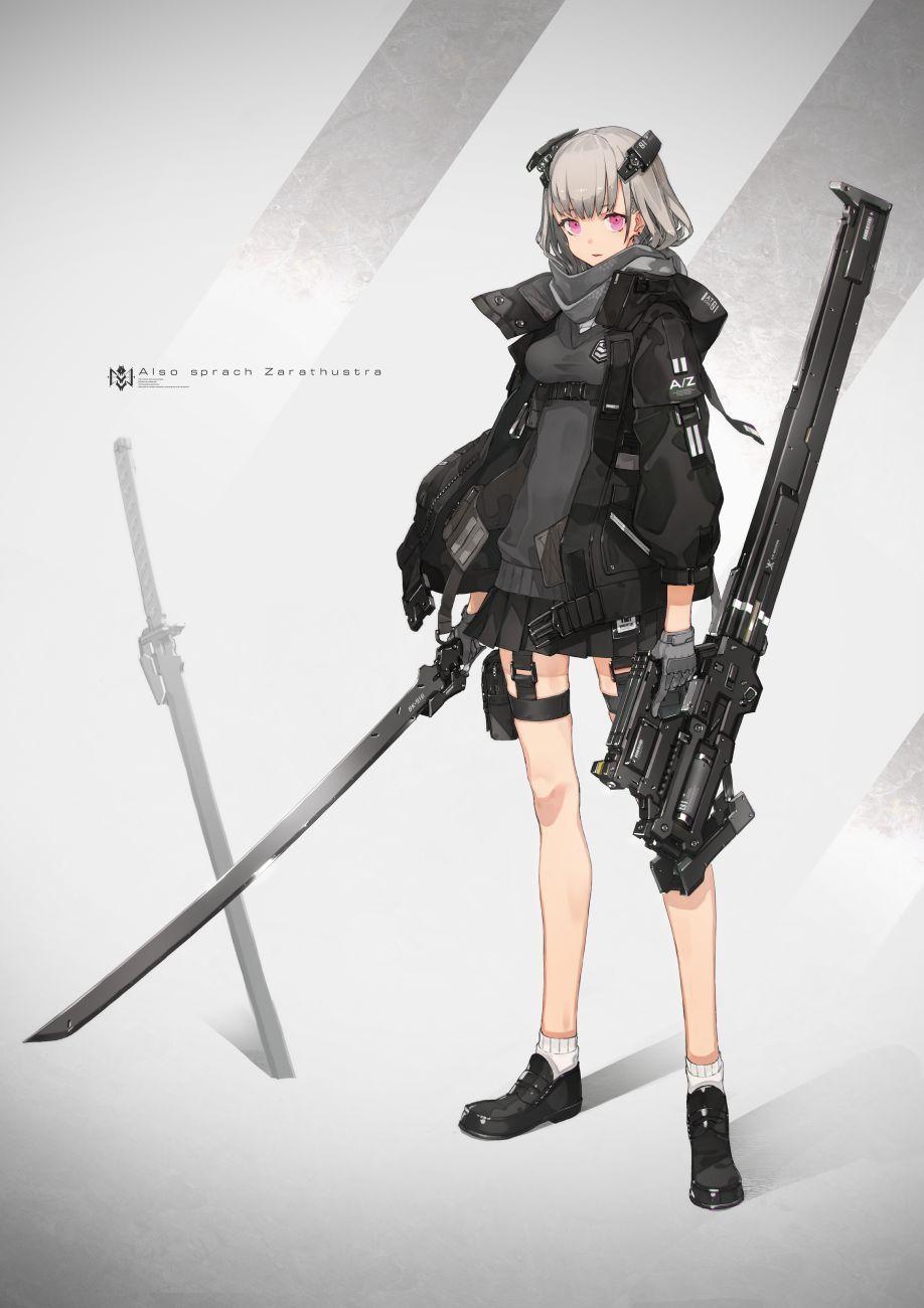 重兵装型女子高生_我们是重兵装型女子高中生