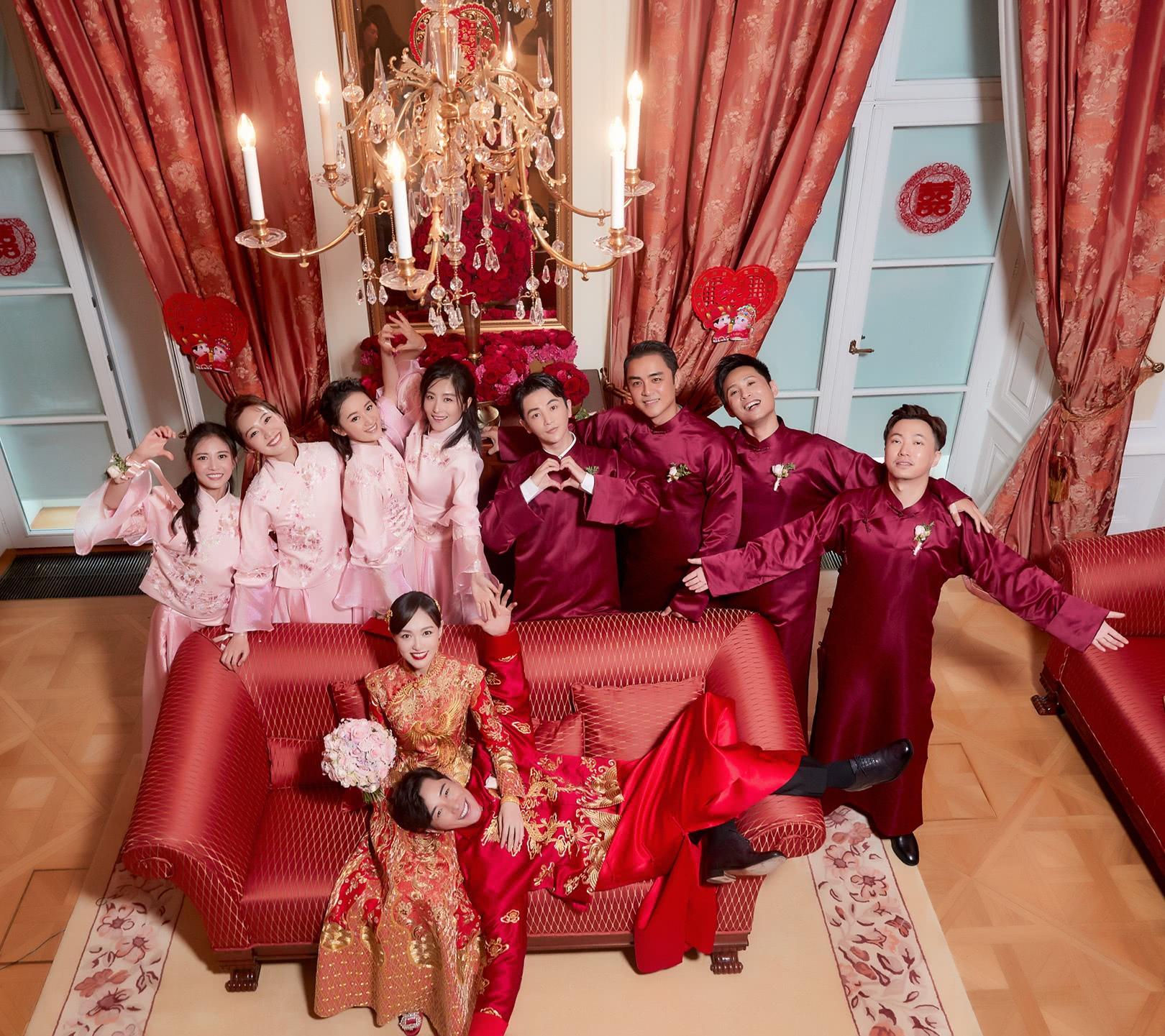 罗晋唐嫣婚礼内景细节曝光富丽堂皇庄重神圣有如宫廷婚礼
