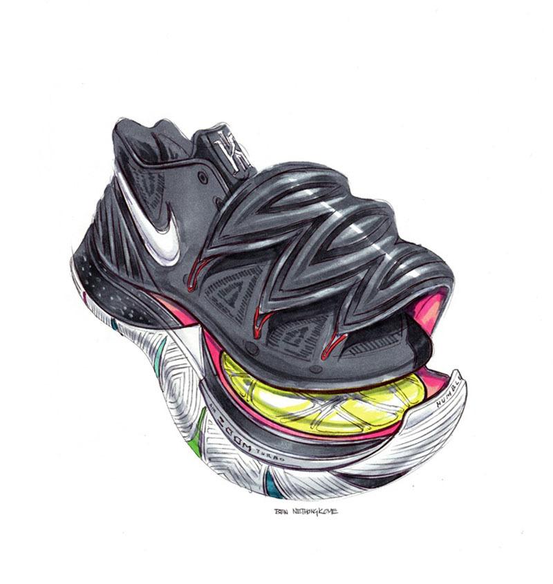 性能外观突破!欧文最新一代战靴 kyrie 5 正式发布!图片