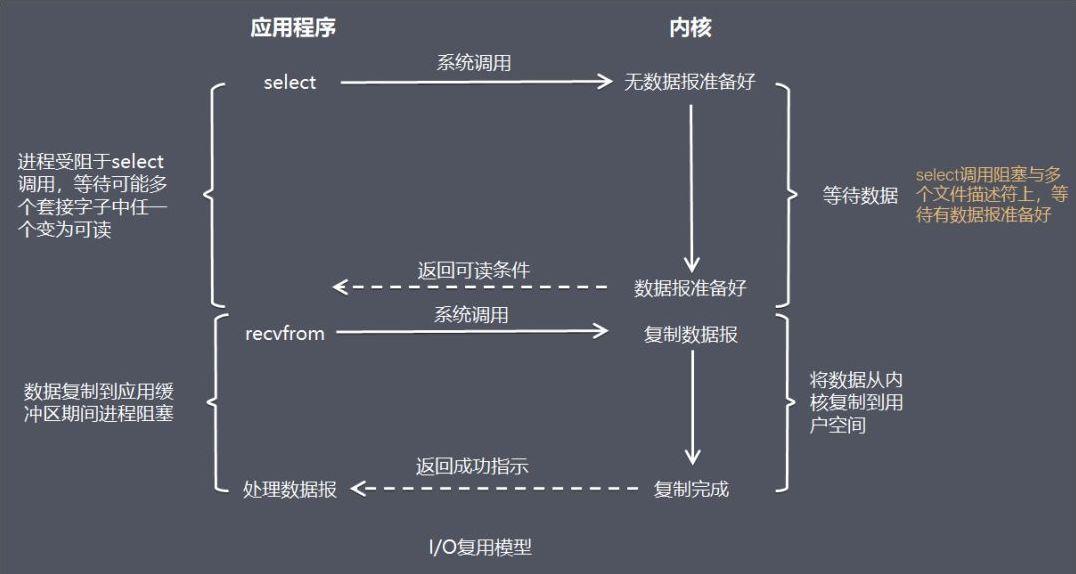 I/O 复用模型