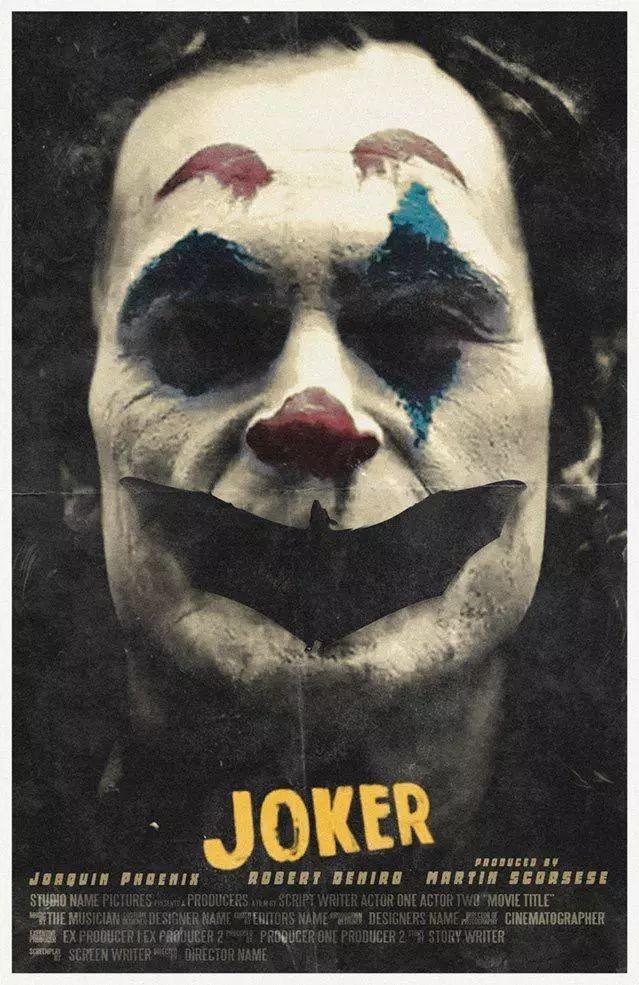 《小丑》海报