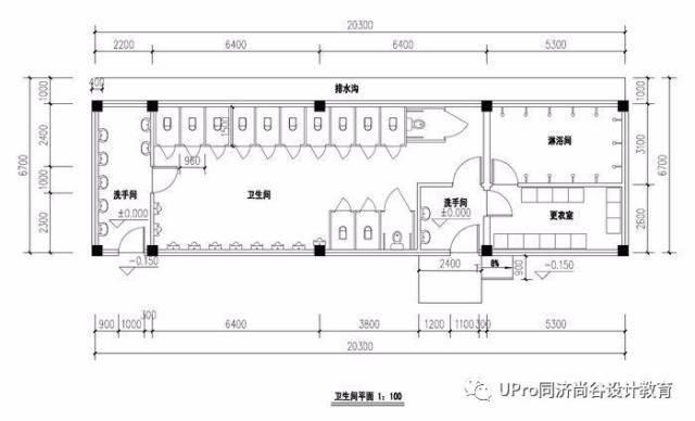 汽车站快题设计平面图