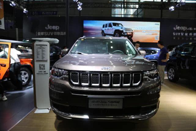 [昆明国际车展]全新Jeep大指挥官,高端7座SUV将亮相!