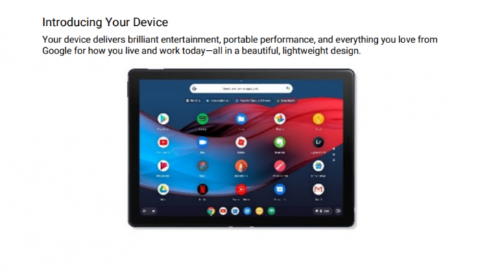 Pixel Slate平板电脑通过FCC认证 即将发售