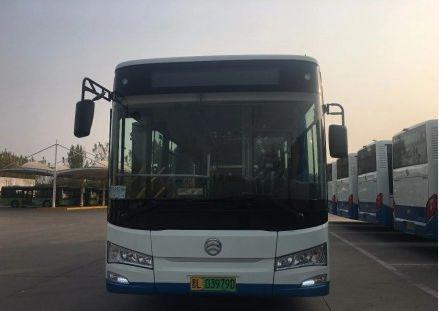洪洞去临汾的公交添新车了