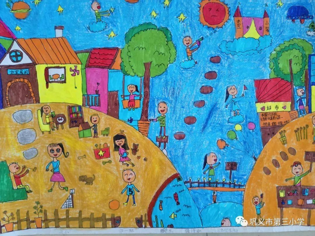 我的中国梦绘画作品大全欣赏_闪靓童网
