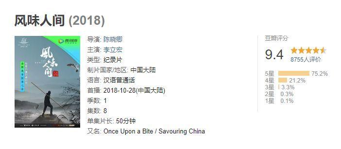 9.9观影 | 深夜慎看!2018秋冬长膘综艺,包你看一集多吃3碗饭!