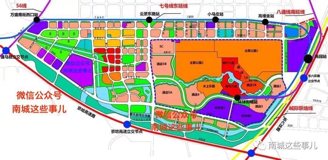 通州文旅区规划图