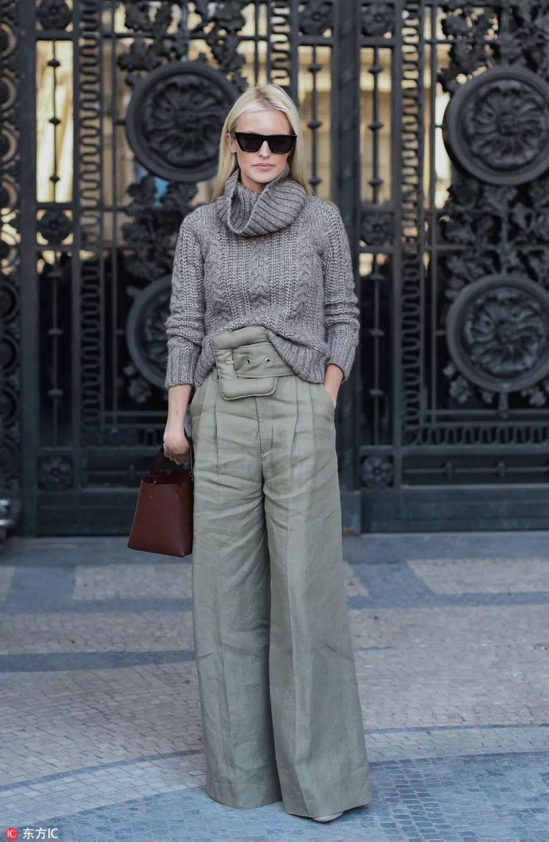 别不信!欧阳娜娜的这5条裤子完全可以承包你的整个冬天