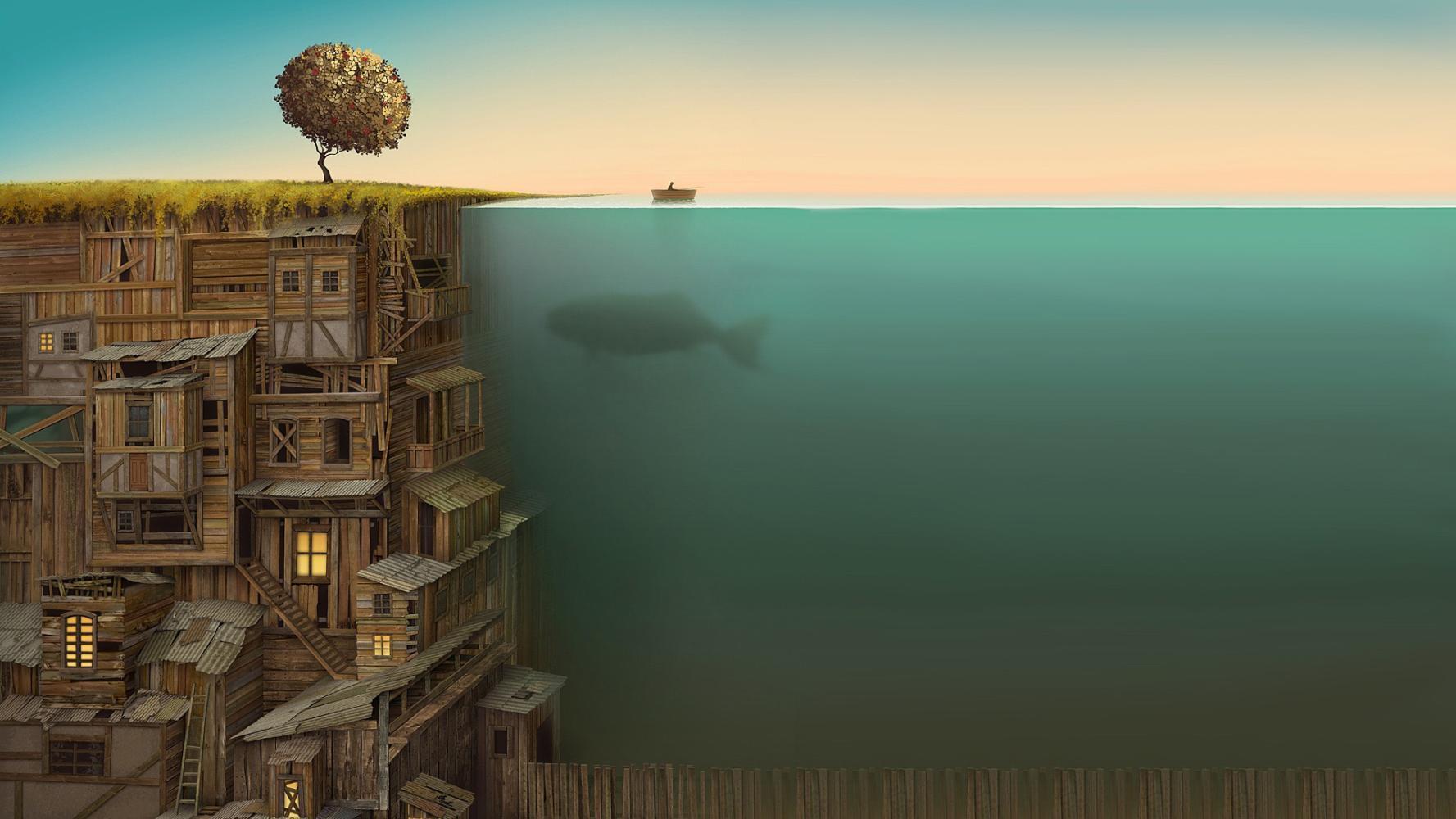 脑洞大开的未来房屋及城市设计.图片