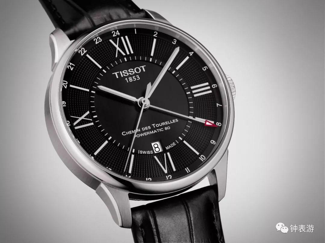 天梭(TISSOT)瑞士手表 杜鲁尔系列钢带机械男士手表T099... -京东