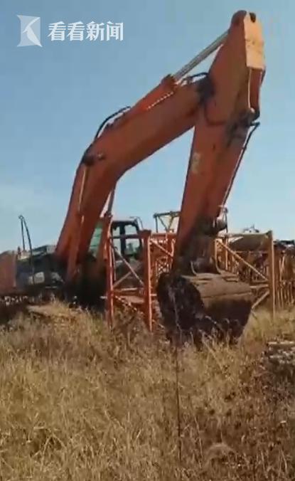 天价!挖掘机被扣押要付31万停车费 停车场还拒开发票