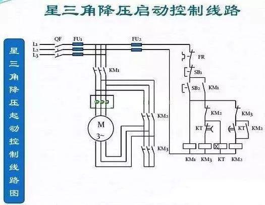 星三角降压启动时,改变接线方式是因为启动时间很短,但是电流却下降到