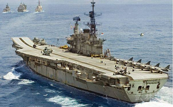 印度航母的奇葩制造史 花费数百亿只给世界留下一个个笑话
