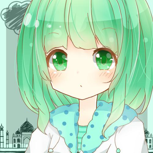萌萌哒二次元动漫女生插画丨乐观向上的小萝莉!