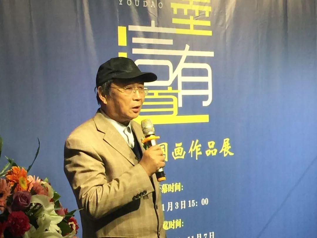 """现场丨""""墨言有道""""李桂荣国画作品展今日在力邦艺术港盛大开幕!"""