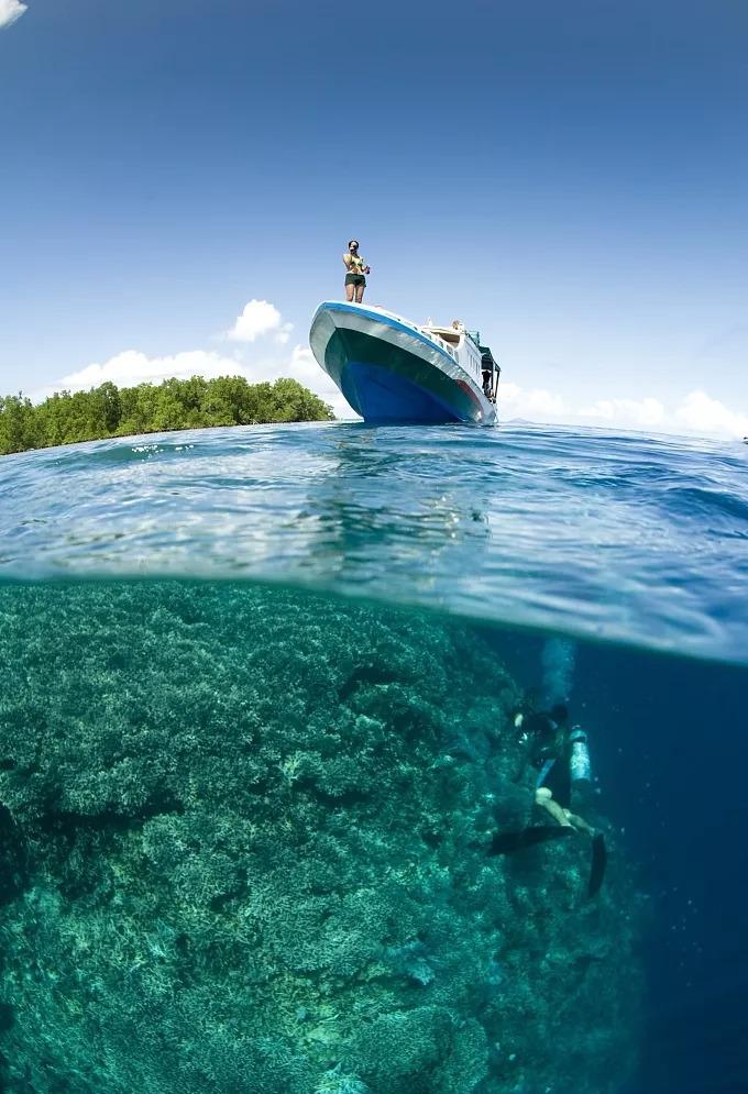 白沙岛:阳光沙滩风景美如画