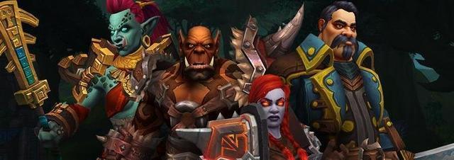 魔兽世界8.1:最新同盟种族职业和种族天赋公布,库国无法师圣骑