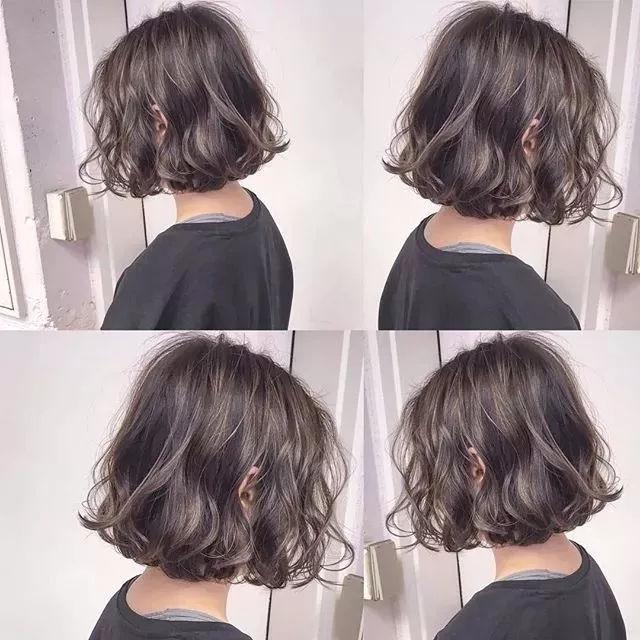 现在的短发都怎么烫 2019最新短发发型烫发图片 goe造型图片