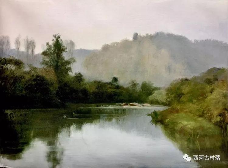 来吧,带你来场震撼之旅----著名油画家左国顺西河古村油画写生 ...,网站推广