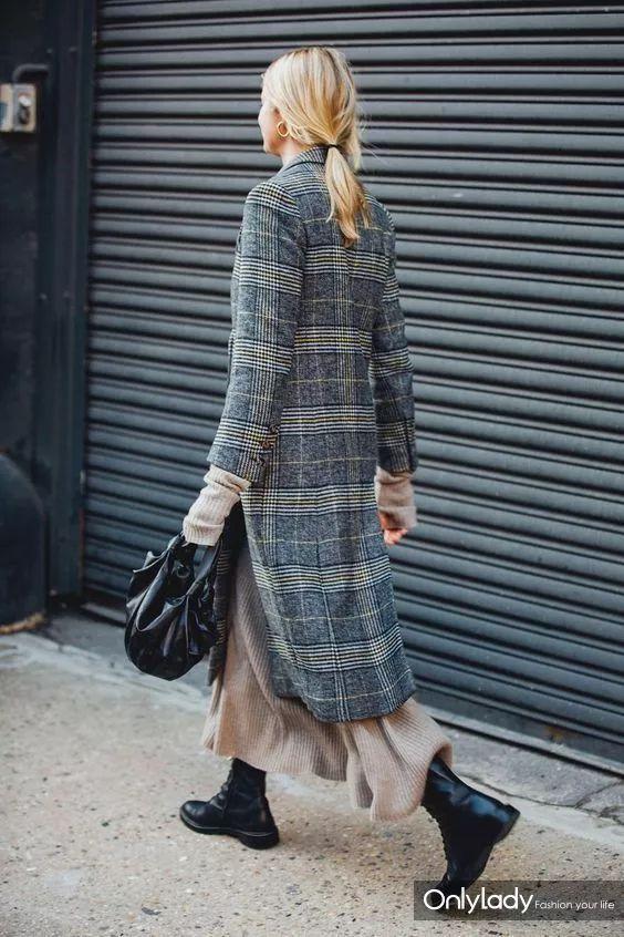 半裙+秋裤,减肥十斤都不如穿它显瘦(还很抗冻)