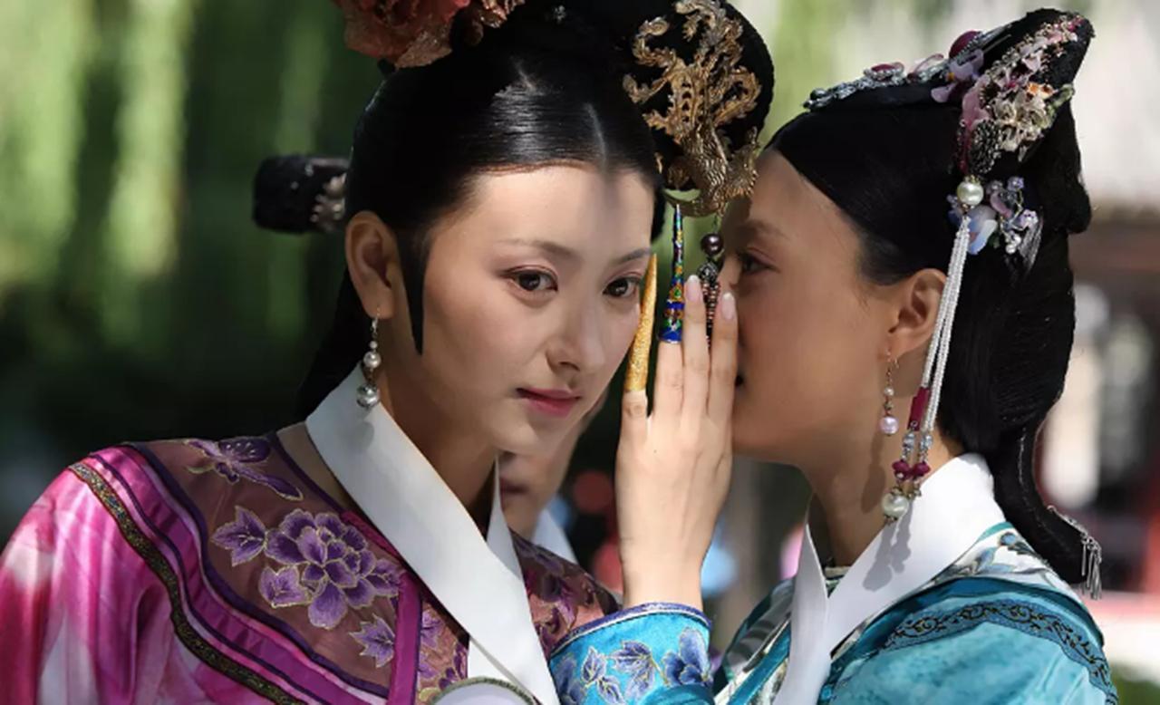 清朝后宫妃子为什么戴指甲套&揭秘:清朝后宫妃子们戴的白领子,不是