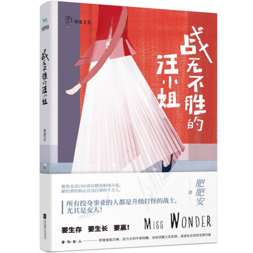 聚焦北京CBD职场风云 话题小说《战无不胜的汪小姐》上市